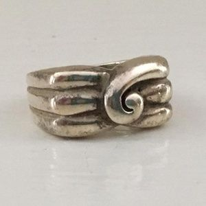 Vintage Sterling Silver Ring from 1968